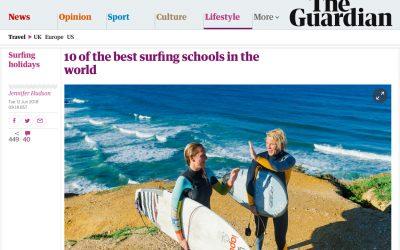 Surf School Lanzarote in the press